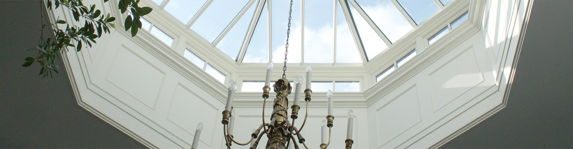 Roof Lantern with impressive decorative panelling to the internal up-stand