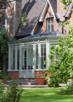 Vicorage after Vale Garden Houses conservatory installation