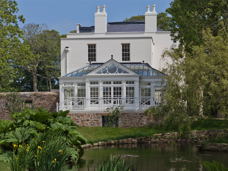 Decorative Georgian Conservatory in the channel islands